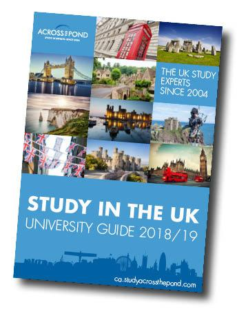 University guide study in the uk